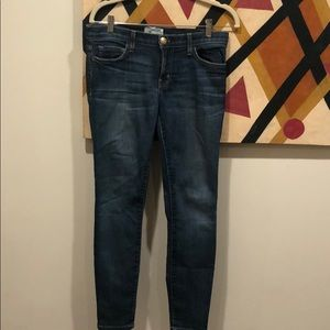 Current Elliot stilleto Jean